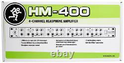 Amplificateur D'écoute 4 Canaux Mackie Hm-400 Pro Rackmount Avec 12 Sorties D'écoute