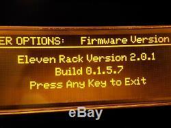 Avid Eleven Pack D'extension Rack -w- (jamais Utilisé) Utilisé Pro Tools 8 Pour Windows 7 Et 10