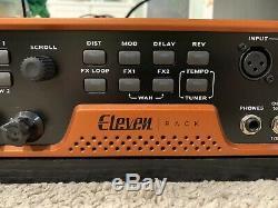 Avid Eleven Rack Guitar Multi-effet / No Pro Tools