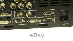 Barco Screen-pro II Hd Vidéo Transparente Switcher De Montage En Rack