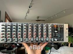 Behringer Eurorack Pro Rx1202fx Mixer Avec Effets Rackmount Great Works! + Box
