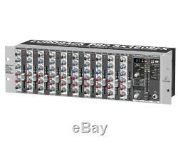 Behringer Eurorack Pro Rx1202fx Montage En Rack Microphone Mixer