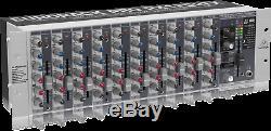 Behringer Eurorack Pro Rx1202fx Rackmount Mixer 12 Entrées
