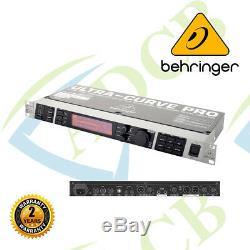 Behringer Ultracurve Pro Deq2496 Égaliseur Numérique Processeur Rackmount Mastering