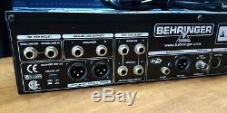 Behringer V-amp Pro Rackmount Guitare Préampli Effets Polyvalent Unité Utilisée De Nice
