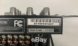 Behringer Vmx1000usb Pro 7 Canaux De Montage En Rack Dj Mixer Avec Interface Audio Usb