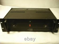 Biamp Tc120 Professional Stereo Amplificateur Rack Mount 2 Channel 120w Made In USA