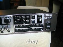 Boss Gt-pro Guitar Preamp Processor Processor Rack Mount 240v