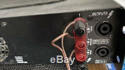 Couronne Xls205 Professional Power Amp 200watt Dj Ou Un Groupe Amplificateur 19 Montage En Rack