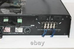 Crown Audio Com-tech 210 Rack Mount Amplificateur De Puissance Modèle 2 Channel Pro Amp 300w