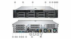 Dell Precision R7920 Workstation Barebone 32 Go Ram 2x 8 To Hdd Dual Heatsinks Pro
