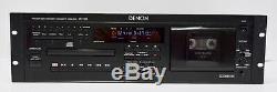 Denon Dn-t620 De Montage En Rack Professionnel Pont CD Et Cassette Combo