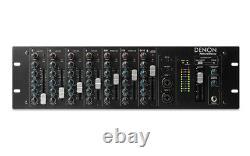 Denon Pro Dn-410x 10-channel Rack Mount Mixer Avec Bluetooth Dn410x Rackmount