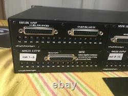 Digidesign Avid 192 I / O Interface Pour Pro Tools Comprend 4 I / O Cards