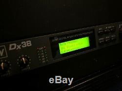 Electro-voice Dx38 System Professional Digital Sound Rack Processeur Mont