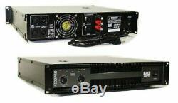 Emb Pro Eb4500pro 4500w 2 Canaux Dj Amplificateur 2u Rack Ampli Stéréo
