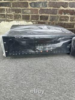Équipement Audio Tascam 302 Dual Cassette Tape Enregistreur De Lecteur Rack Mount Pro
