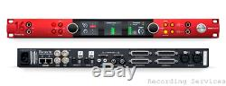 Focusrite Pro Red-16-line Rouge 16line 64x64 All-in-one Interface, Dante 32x32 I / O