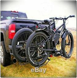 Hitch Plateau Vélo Big Fat Tire Rack Mount Remorque Plateau Suv Style Universal Carrier