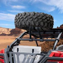 Kemimoto Rack De Support De Pneus De Rechange Pour Polaris Rzr Pro Xp 2020-21 2/4 Seater