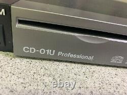 Lecteur CD Rackmount Tascam Cd-01u Pro