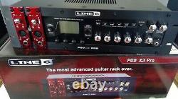 Ligne 6 Pod X3 Pro Rack Mount Guitare, Basse & Processeur Vocal, Propriétaire Original