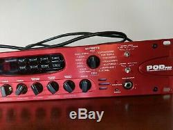 Line 6 Pod Pro Rack Guitare Électrique Processeur Utilisé