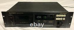 Marantz Professional Stereo Cassette Deck Pmd501works! Pmd 501avec Rack Mount