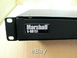 Marshall V-rd151p 15 Pro LCD Moniteur Vidéo Rack Panneau, Bateau Libre