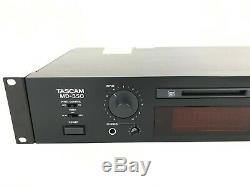 Md-350 Tascam Minidisc Read Write Pro Audio Studio Rack Lecteur