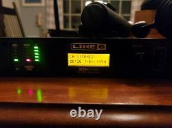 Microphones Professionnels Sans Fil Double Line 6 Xd-v75 Preamp Avec Rackmount