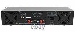 Montage D'amplificateur De Puissance Professionnel Pro Ax2000 2 Canaux 2000 Watt
