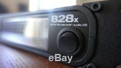 Motu 828x Professional 28x30 Interface Audio Avec Thunderbolt, 24 Bits