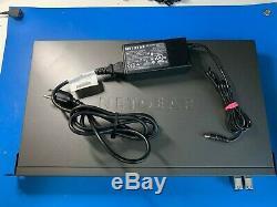 Netgear Xs712t-100nes 12 Ports 10 Gigabit Intelligent Managed Pro Commutateur De Montage En Rack