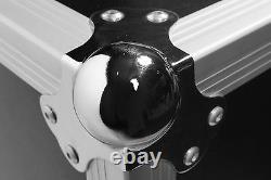 Osp 16 Space Dj Mixer/amp Ata Rack Road Case With10 Space Top Mixer Montage