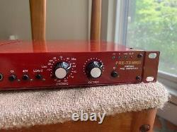 Paire De Préamplis Pre 73 Mkii D'âge D'or Avec 1u Rack Mount Pro Audio