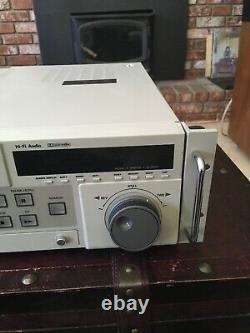 Panasonic Ag-7350 Svhs Enregistreur De Cassette Vidéo Professionnel De Travail, Mais Lire