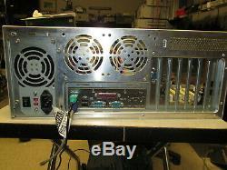 Pentium 3 Pc Industriel Rackmount Windows 2000 Pro Os Pci Ready To Go