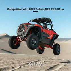 Pour Polaris Rzr Pro Xp /4 Premium 2020-21 Utv Rzr Spare Tire Carrier Mount Rack