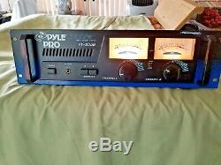 Power Amp, Pyle Pro Pt 2000 Montage En Rack