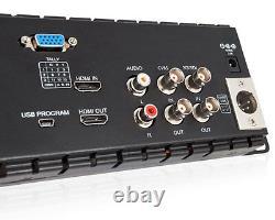 Pro Triple 5 2ru 800×480 Broadcast LCD Rack Mount Monitor 3g-sdi Hdmi Av