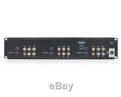 Pro Triple 5 2ru 800 × 480 LCD Diffusion De Montage En Rack Moniteur Avec La 3g-sdi Hdmi Av