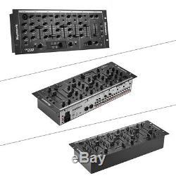 Professionnelle 5 Canaux Dj Rack Mixer Console De Mixage Stéréo Qualité Fine