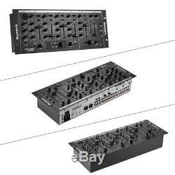 Professionnelle 5 Canaux Dj Rack Mount Mixer Console De Mixage Stéréo D3t7