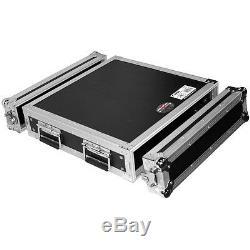 Prox USA T-2rss 2u 2 Espace 3.5 Amp Rack Pro Dj Pa Audio Flight Case 19