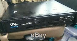 Qsc Audio Rmx-2450 2 Canaux Pro Amplificateur De Puissance De Montage En Rack Sub Bass Secteur