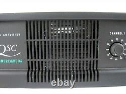 Qsc Powerlight Pl3.4 Amplificateur De Puissance Audio Professionnel 2-ch 1150w Rack Mount