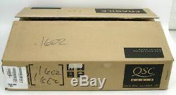Rackmount Qsc Plx-1602 Pro Power Amplifier 300withch @ 8 Ohms + Box & # 1721 Manuel