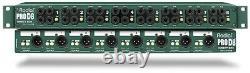 Radial Prod8 Pro D8 8-channel Rackmount DI Box Direct Box