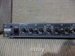 Rane Ac 23 Active Crossover Ac23 Rack Mount Pro Audio Pas D'alimentation Vendue Comme Is